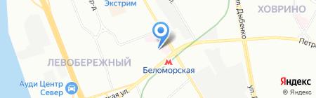 Лекарь-1 на карте Москвы