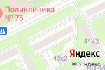 Схема проезда до компании Школа боевых искусств на Большой Филёвской в Москве