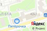 Схема проезда до компании Хардкор Джим в Москве