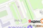 Схема проезда до компании 13% в Москве