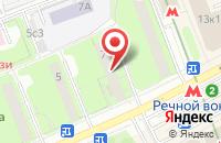 Схема проезда до компании Проектрегионстрой в Москве