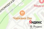 Схема проезда до компании Боярская Усадьба в Москве