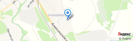 Отдел Военного комиссариата Тульской области по Ленинскому району на карте Барсуков