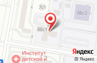 Схема проезда до компании Квант-1 в Москве