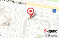 Схема проезда до компании Молэйн в Москве