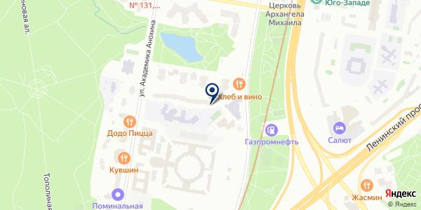Tissoria на карте Москве