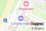 Схема проезда до компании ПромЭкострой в Москве