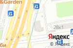 Схема проезда до компании Альфапарф в Москве