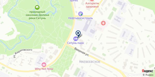 АКАДЕМИЯ КРАСОТЫ-АПРИОРИ на карте Москве