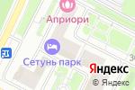 Схема проезда до компании Интоп-Процессинг в Москве