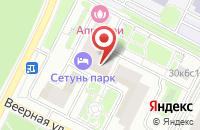 Схема проезда до компании Сынер Ру в Москве