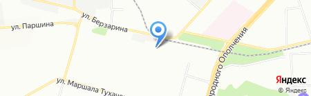 Сгомонь на карте Москвы