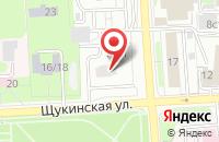 Схема проезда до компании Общество С Ограниченной Ответственностью »Литературное Агентство «Границы« в Москве