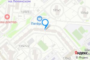 Сдается двухкомнатная квартира в Москве Ленинский пр-т, 135к1