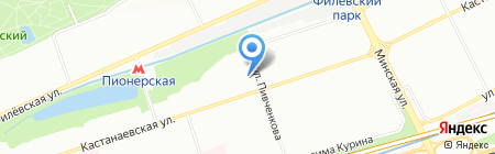 Ситимаркет на карте Москвы