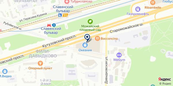 Legion на карте Москве