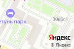 Схема проезда до компании NaviShop в Москве