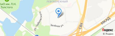 Гимназия №16 на карте Химок