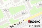 Схема проезда до компании ОПОП Западного административного округа в Москве