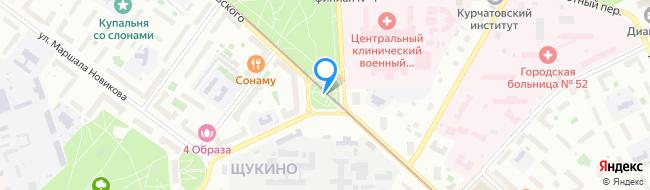 площадь Академика Курчатова