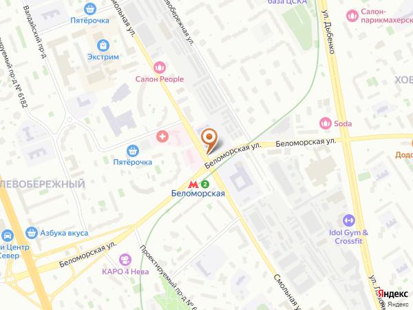 Остановка Поликлиника в Москве