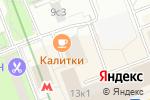 Схема проезда до компании Delaiproekt в Москве