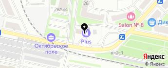 Аксон на карте Москвы