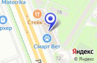 Схема проезда до компании ТЕХЦЕНТР ПРОАВТО в Москве