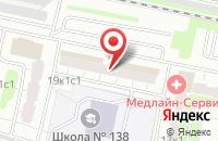 Схема проезда до компании Юста в Москве