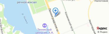 The Фиш на карте Москвы
