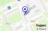 Схема проезда до компании UTINET в Москве
