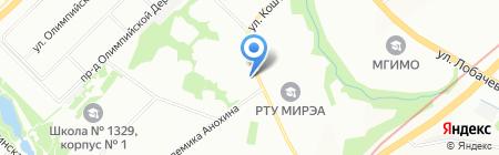 Виктория на карте Москвы