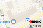 Схема проезда до компании Саквояж в Москве