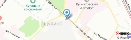 Агентство Вебмастер на карте Москвы
