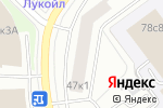 Схема проезда до компании Уголок в Москве