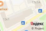 Схема проезда до компании Frime в Москве