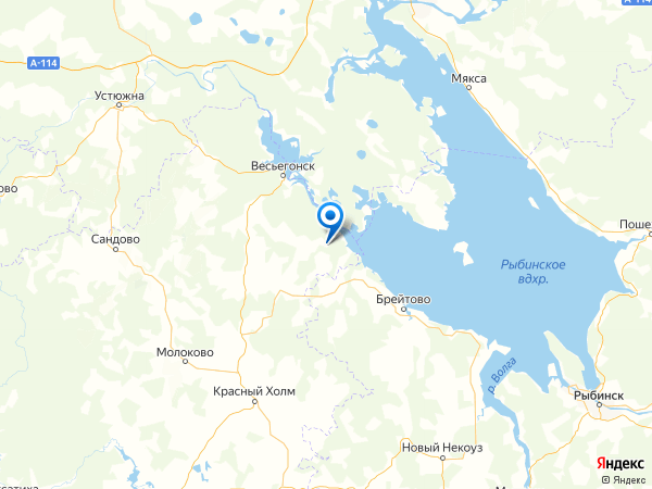 деревня Чурилково на карте