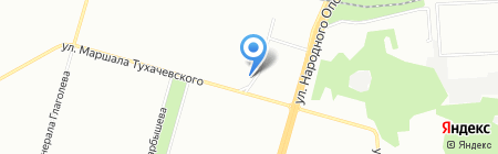 Дезснаб на карте Москвы