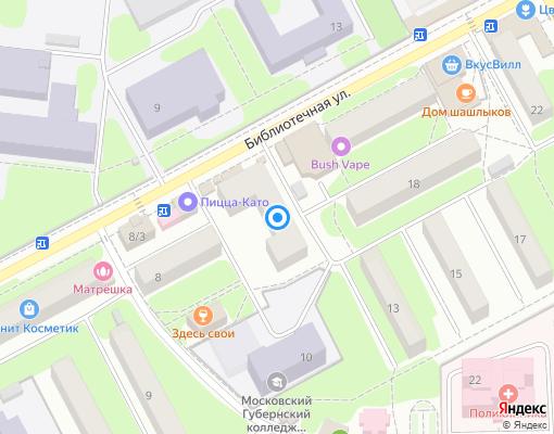 Жилищно-строительный кооператив «ЖСК Сходня-3» на карте Химок