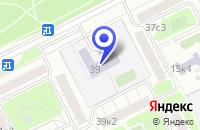 Схема проезда до компании АВТОШКОЛА УНИВЕРСАЛ в Москве