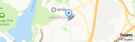 Московский областной колледж искусств на карте Химок