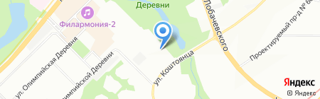 Ниагара на карте Москвы