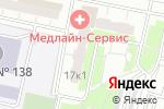 Схема проезда до компании Медлайн-Сервис в Москве