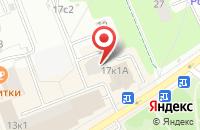 Схема проезда до компании Теплотрейд в Москве