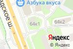 Схема проезда до компании Волден-трейд в Москве