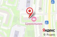 Схема проезда до компании Праздник в Подольске