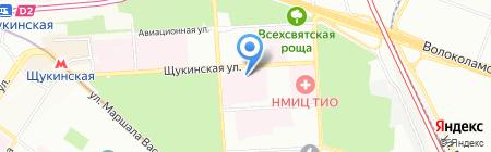 Квалиорт на карте Москвы