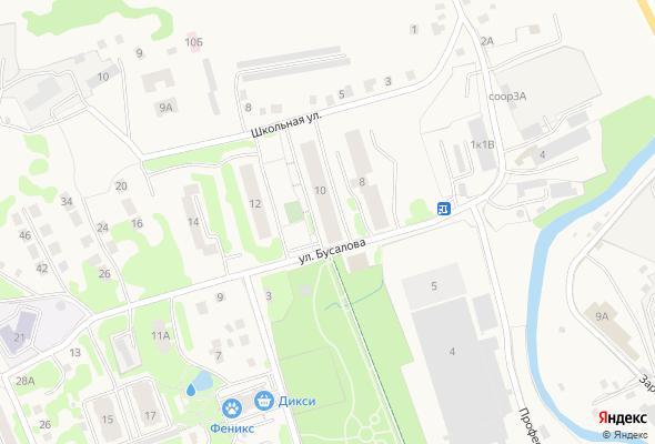 жилой комплекс На Бусалова