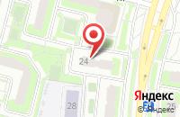 Схема проезда до компании Репетиторский центр на ул. Академика Доллежаля в Подольске