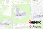 Схема проезда до компании Средняя общеобразовательная школа №1010 с дошкольным отделением в Москве